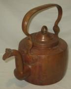 Чайник старинный медный, на 6 литров, тяжелый, Россия 19 век №3300
