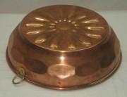 Форма для желе, для выпечки, медная №3315