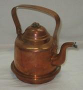 Чайник медный на 1 литр, Швеция 20 век №3433