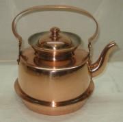 Чайник из меди на 1,5 литра Швеция 20 век №3503